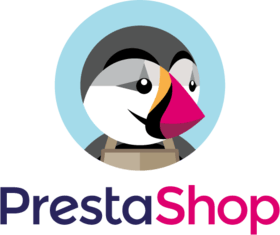 image of the PrestaShop logo with a penguin