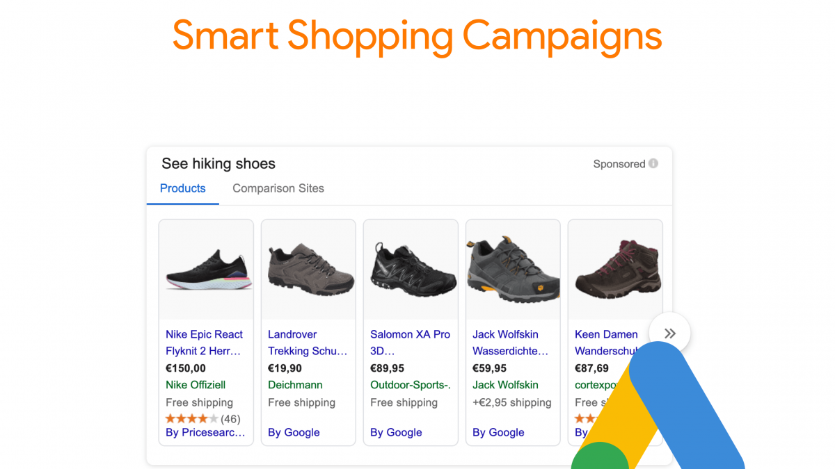 Creating a Google Smart Shopping Campaign